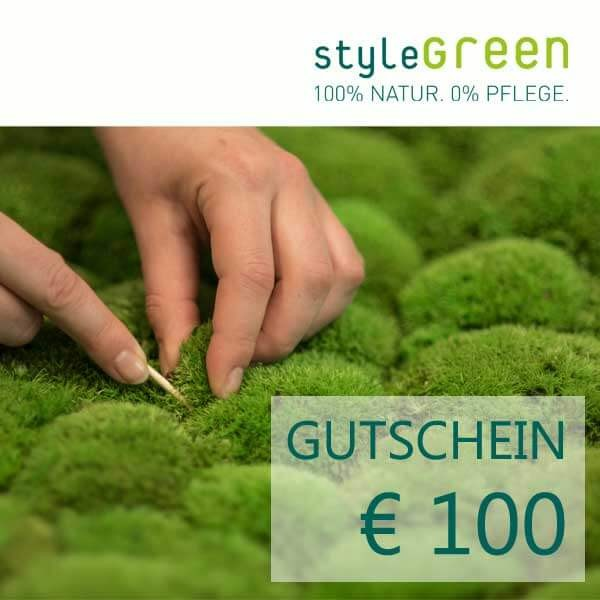 100 Euro voucher for the styleGREEN online shop
