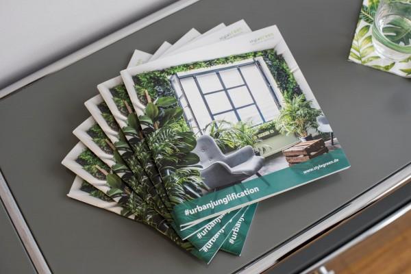 styleGREEN Katalog Standardsortiment und INDIVIDUAL
